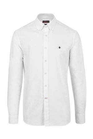 Oxford Button Down skjorte – Hvit