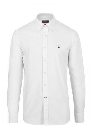 Oxford Button Down skjorte – Hvit