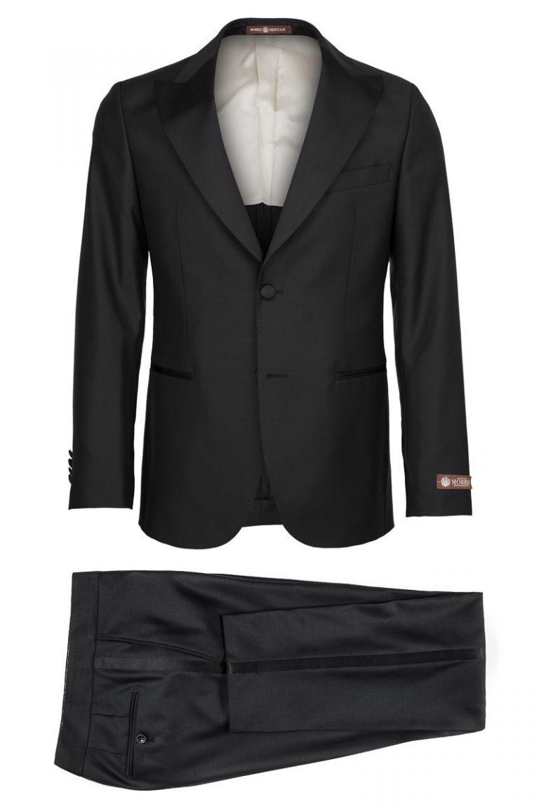 Mike Peaked Tuxedo – Svart