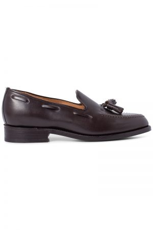 Finchley Tassel Loafer - Brun
