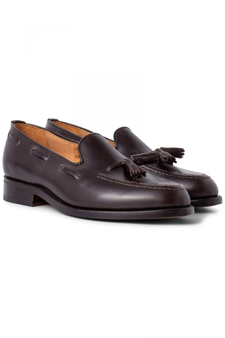 Finchley Tassel Loafer – Brun