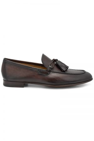 Tassel Loafer – Brun