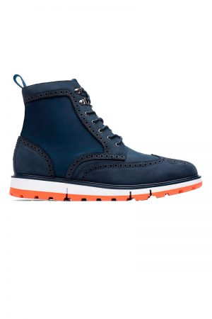 Wing Tip Boot - Marine