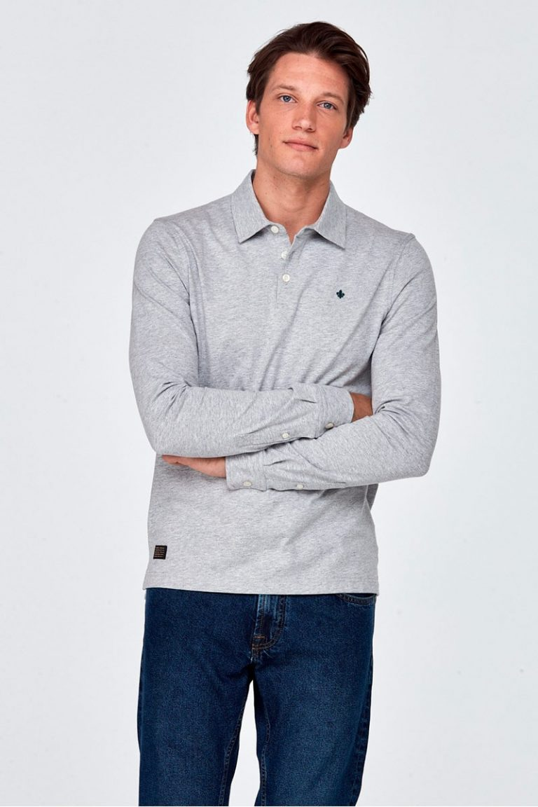 Juan Long Sleeve genser – Grå