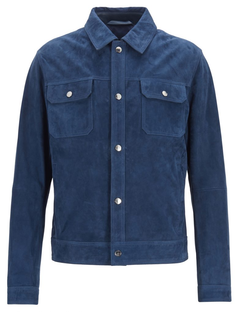 T- Medas jakke – Blå