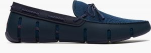 Braided Lace Loafer - Marine