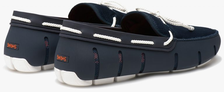 Braided Lace Loafer – Marine