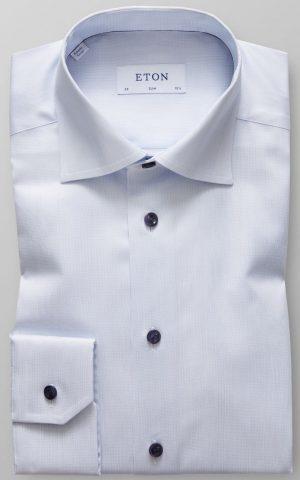 Slim Skjorte – Blå