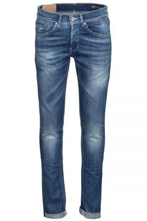 George Jeans – Blå med struktur
