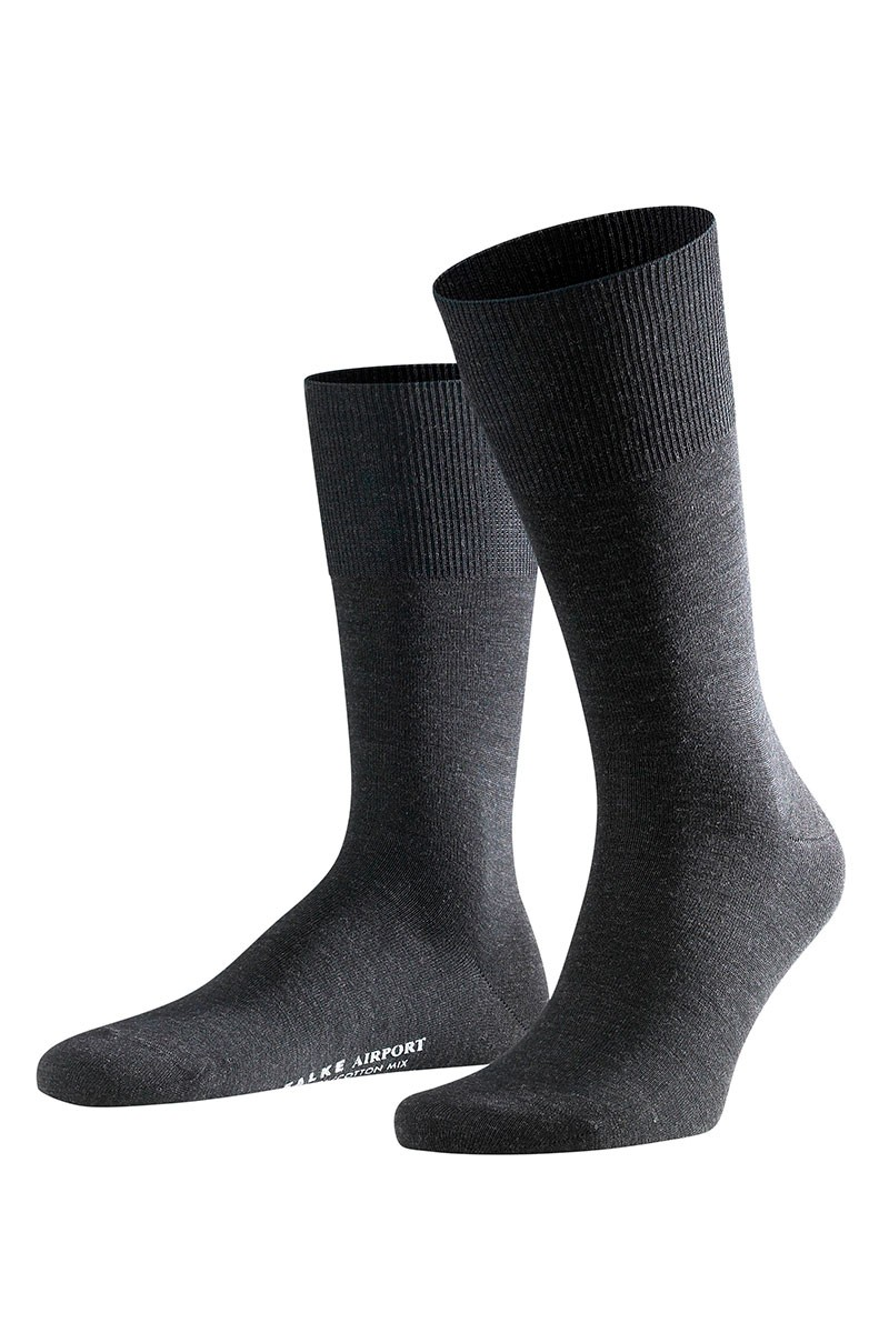 Airport Sokker – Koksgrå