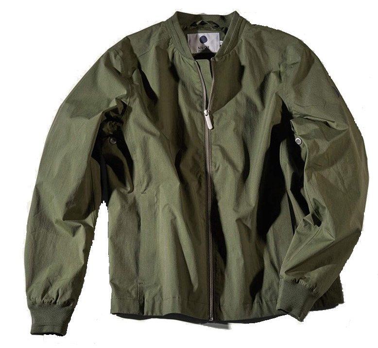 5546fdfd Bomber Jacket - Grønn | Follestad