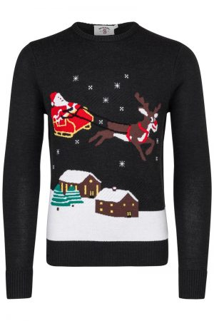 Christmas City Sweater – Marine