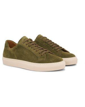 Suede Sneaker – Grønn