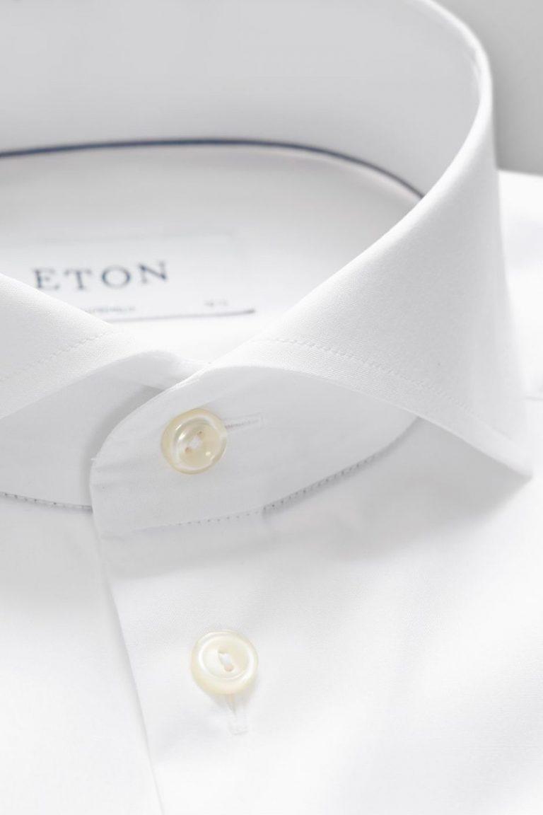 Superslim Extreme cutaway skjorte – Hvit
