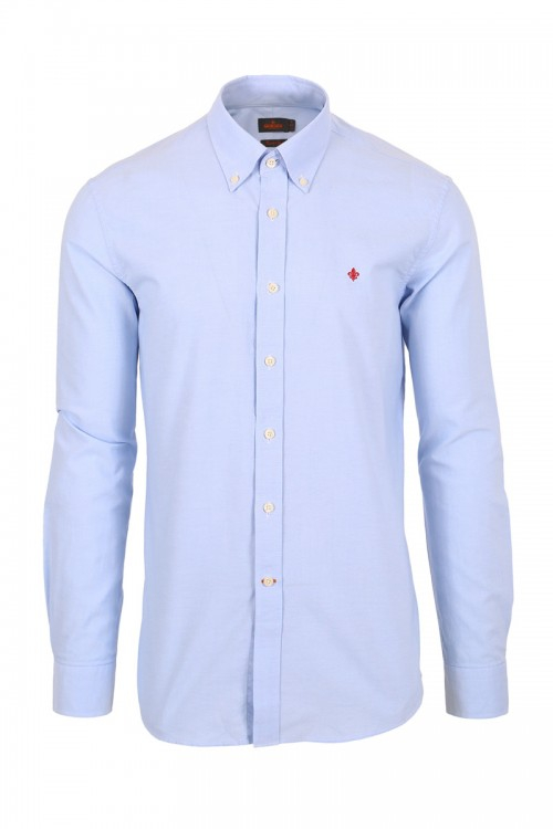 Oxford Button Down skjorte – Lyseblå