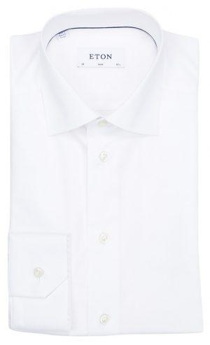 Slim skjorte standard – Hvit