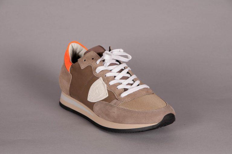 Tropez suede sneaker – Brun
