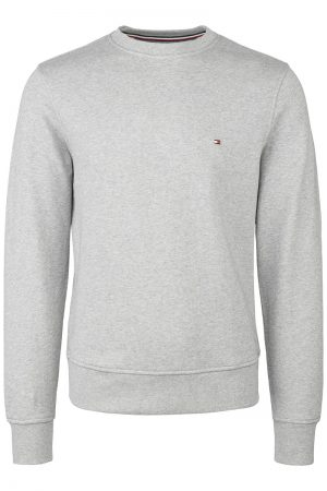 Core Cotton Sweatshirt – Lysegrå