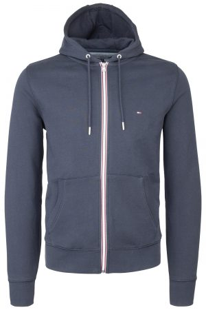 Core Cotton Zip Hood – Marine