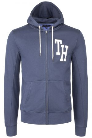 Hilfiger Hooded Zip – Marine