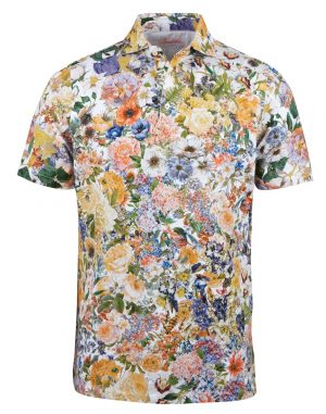 Polo Shirt – Blomsterprint