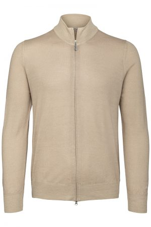 Zip Jacket – Beige