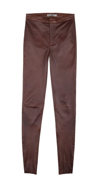 Leather Pant – Cognac