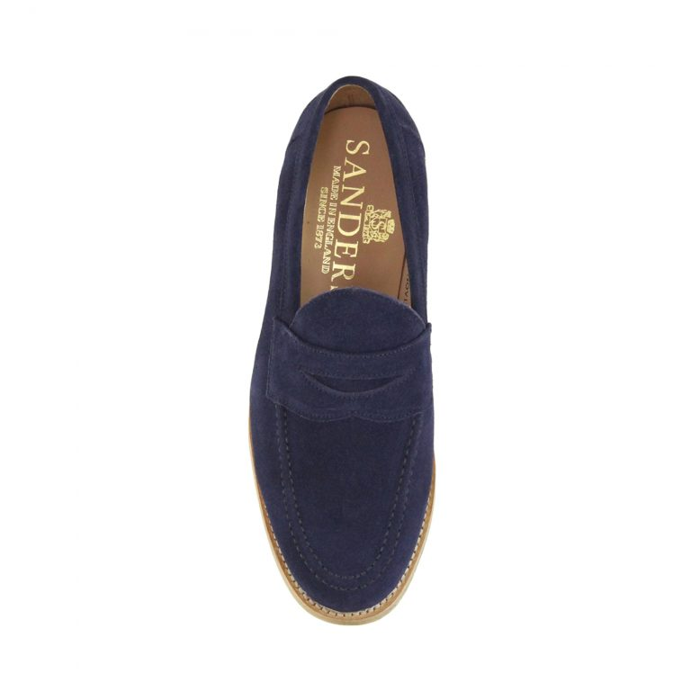 Louis Suede Loafer – Marine