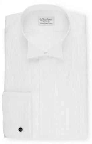 Fitted Smoking Skjorte Knekk – Hvit