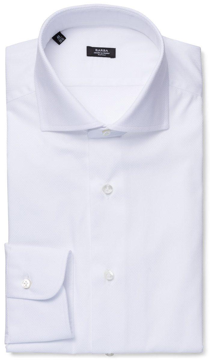 Slim skjorte – Hvit