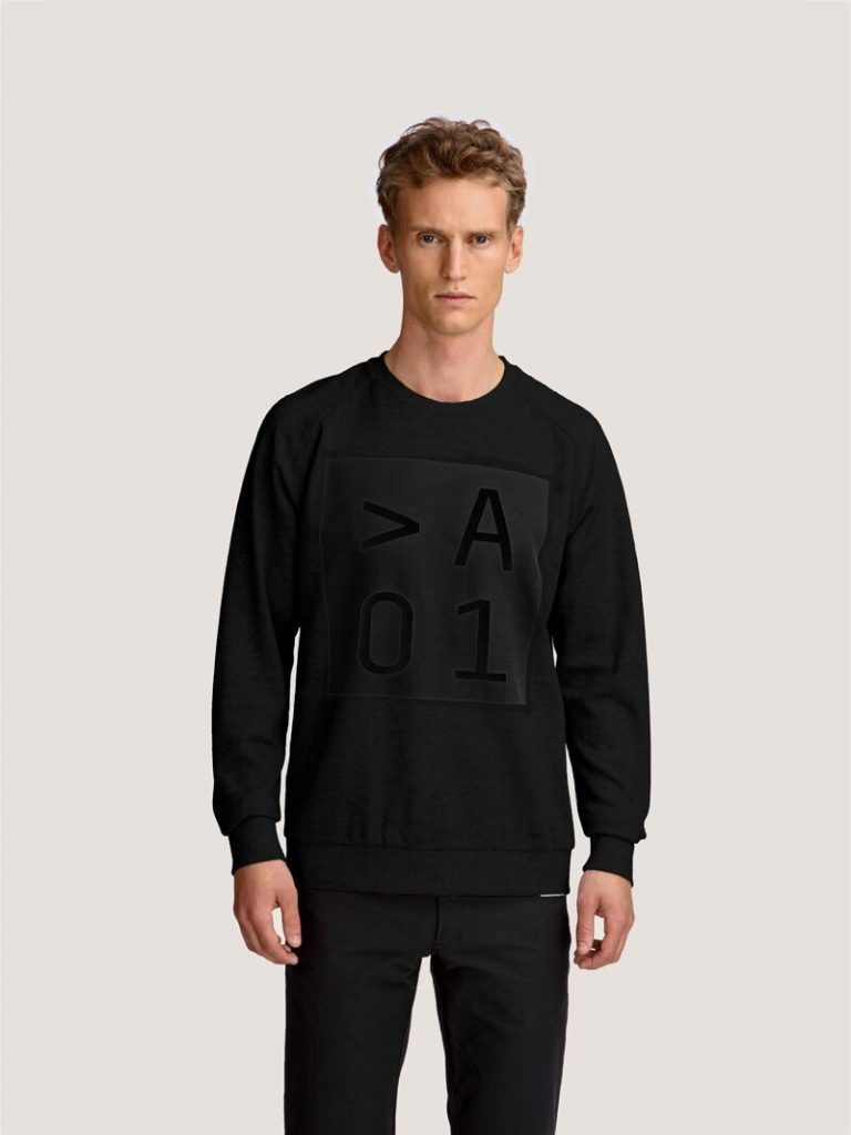 Carving Crew Sweat – Sort