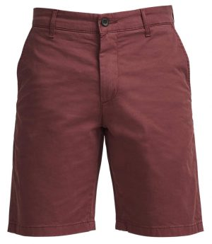 Crown Shorts – Burgunder