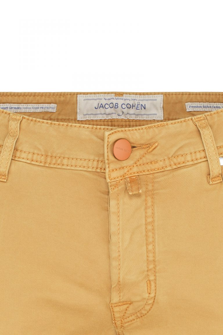 5-Lommer jeans – Gul
