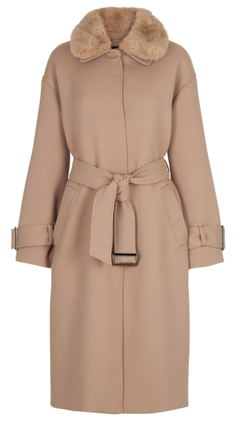 Mathilde Coat – Beige