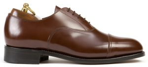 Cap Toe Oxford – Brun