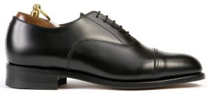 Cap Toe Oxford – Sort