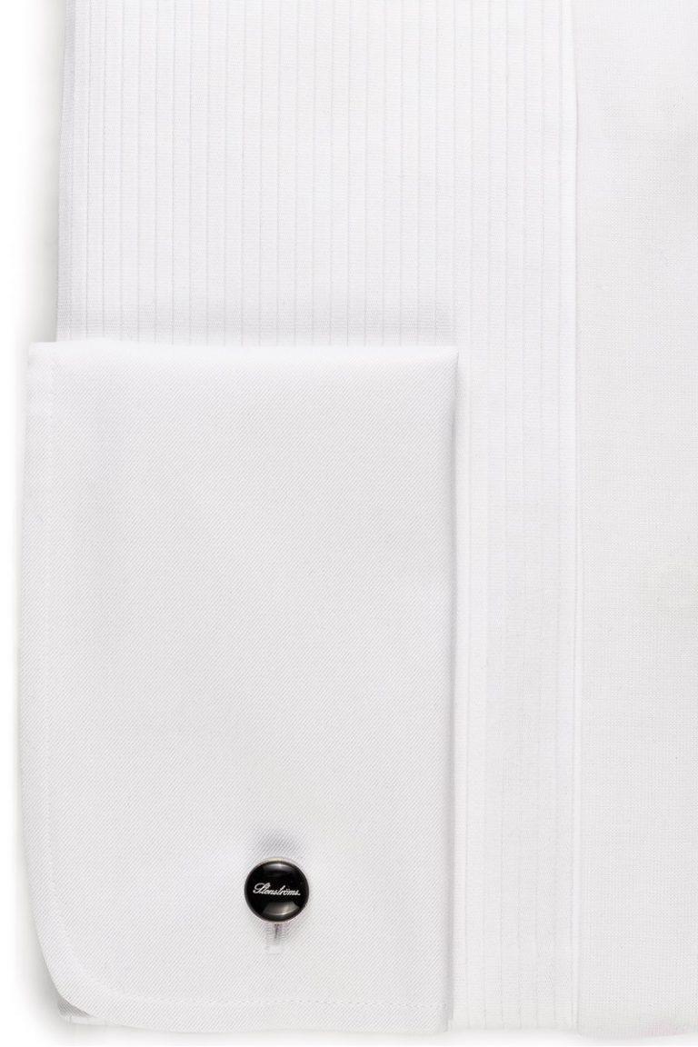 Slimline Smoking Skjorte Knekk – Hvit