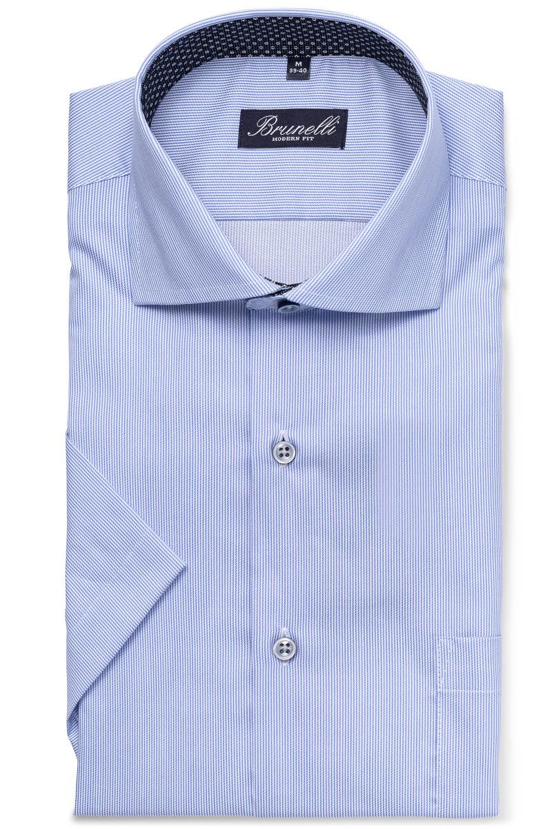MODERN FIT Finskjorte blau