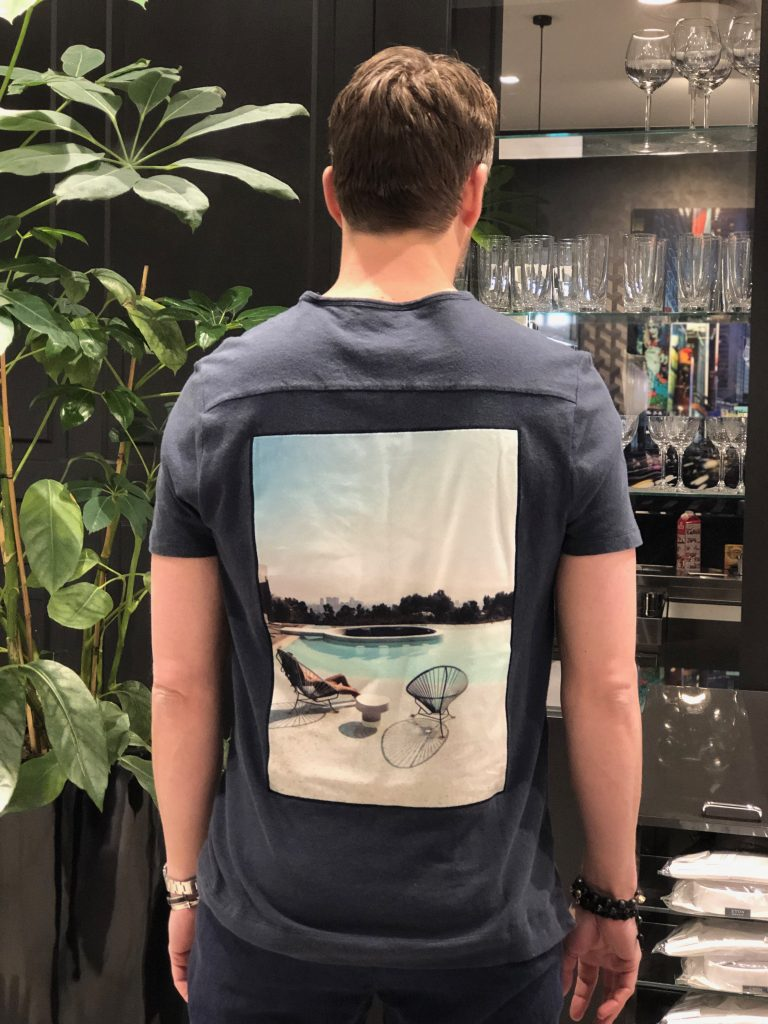 Relax T-skjorte – Blå