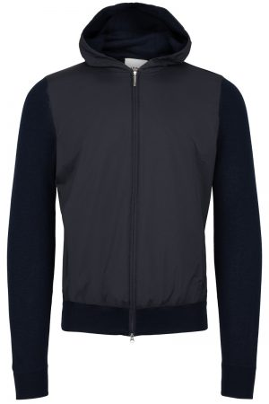 Hooded jacket – Marine