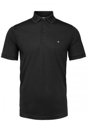 Soft Logo Polo – Sort