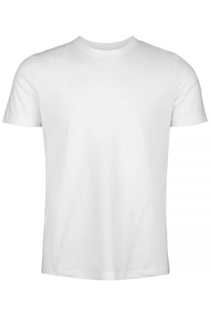 Basic T-shirt – Hvit