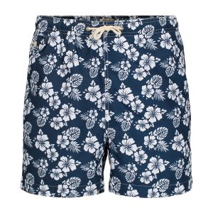 Hawaii badeshorts – Blå