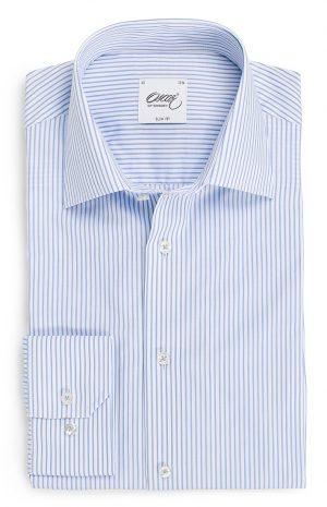 Slim fit skjorte – Lyseblå