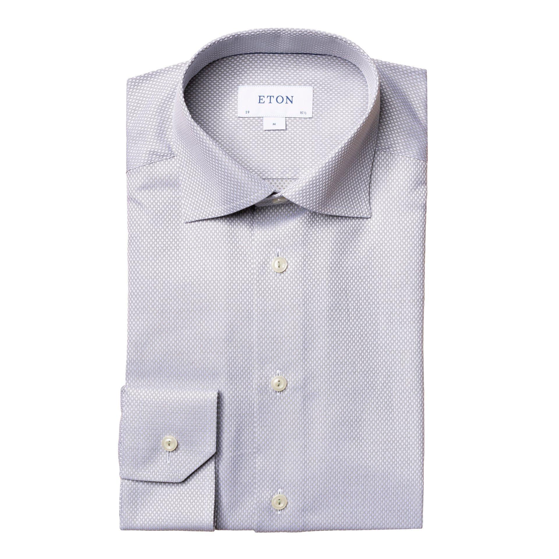 Slim fit skjorte Sort | Follestad