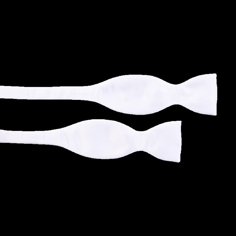 Sløyfe selvbinder – Hvit